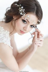 Аксессуары. Роскошные свадебные диадемы. Фата. Тиара.
